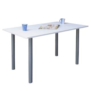 【美佳居】桌面(60公分x120公分)會議桌/工作桌/書桌/電腦桌(素雅白色)