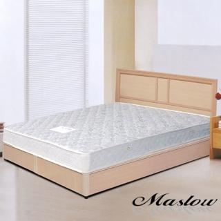 (Maslow-現代白橡)雙人3分床組-5尺(不含床墊)