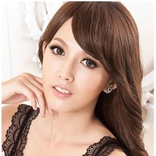 Angel's Secret 芭比Q甜心公主水晶珍珠耳環-星銀