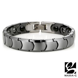 MASSA-G 情人節特別款-(黑色浪漫)陶瓷手環