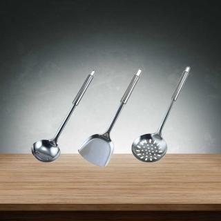 《秦博士》烹飪大師 湯杓+漏杓+鍋鏟SC303
