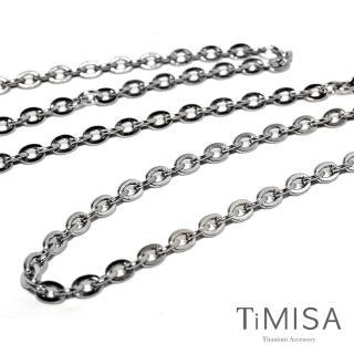 【TiMISA】璀璨十字 純鈦項鍊(M02004H)