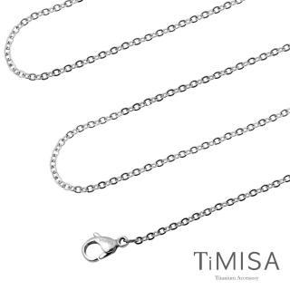 【TiMISA】璀璨十字 純鈦項鍊(M02004E)