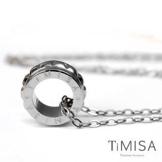 【TiMISA】幸福御守-S 純鈦項鍊(F)