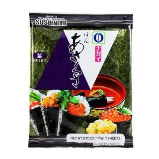 【即期出清】東京NAGAI 本淺草紫海苔(7枚)