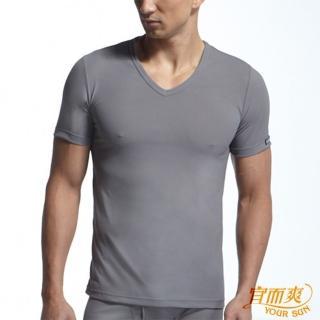 (宜而爽)時岱l濕排汗速乾型男短袖衫~2件組