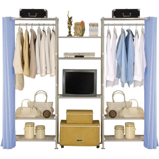 【巴塞隆納】W3型60+60+60置物衣櫥架