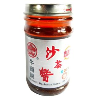 《牛頭》-玻璃瓶沙茶醬(127g)