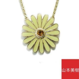 【山本美樹】雛菊 奧地利水晶項鍊