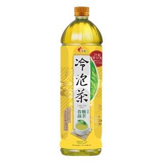 《光泉》冷泡茶-春釀綠茶1235ml*12瓶