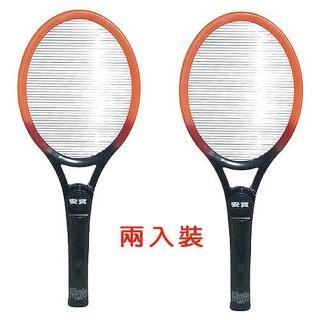 【安寶】強力大型電子電蚊拍-電池式(AB-9902兩支裝)