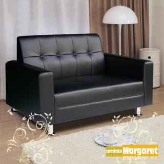 (Margaret)簡約設計獨立沙發-雙人(咖啡)