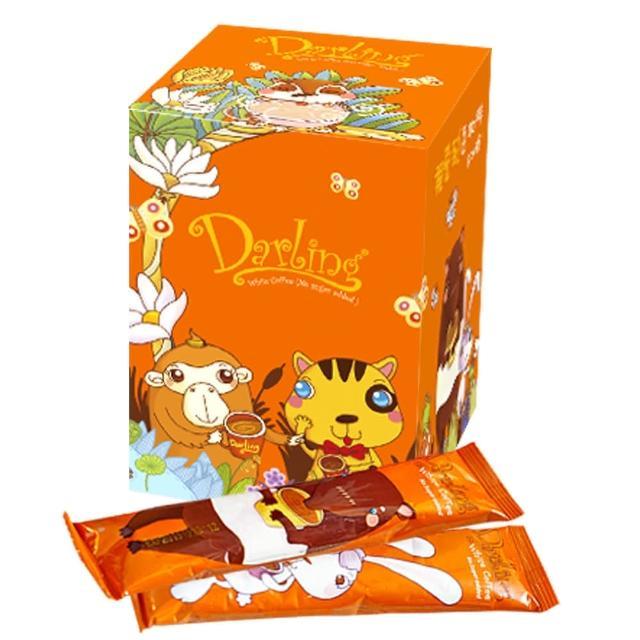 【親愛的】橙˙二合一白咖啡(20包)