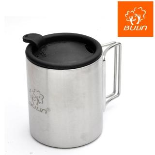 【步林BULIN】環保攜帶式不鏽鋼杯/露營杯/野營杯(小)