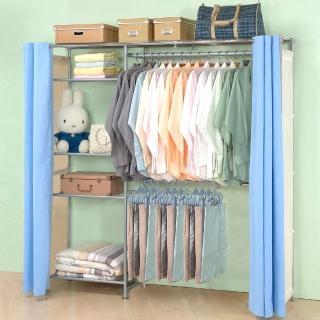 【巴塞隆納】超大收納60型防塵伸縮衣櫥