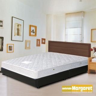 【Margaret】極簡風格胡桃床架-雙人(不含床墊)