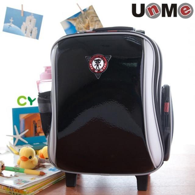 【勤逸軒】UnMe高年級拉桿後背兩用書包(鏡黑)