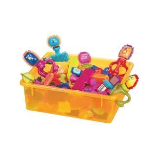 【美國B.Toys】B.Toys布萊斯特鬃毛積木