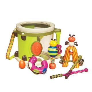 【美國B.Toys】B.Toys砰砰砰打擊樂團