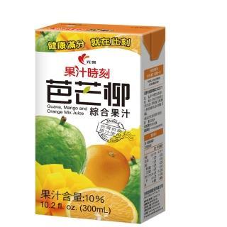 《光泉》果汁時刻-芭芒柳汁-300毫升-箱