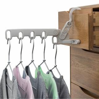 【日本AISEN】室內機能 5連勾曬衣架