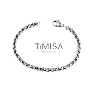 【TiMISA】風之戀 純鈦手鍊(S)