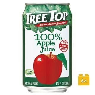 ~Tree Top~100^%樹頂蘋果汁320ml^~6