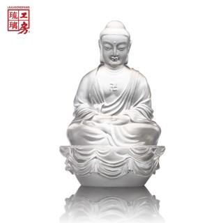 琉璃工房 LIULI-護願平安 — 平安歡喜永隨身 — 釋迦牟尼佛