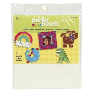 《Perler 拼拼豆豆》拼豆專用助燙紙(6 張入)