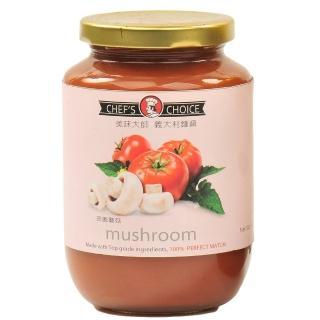 【美味大師】義大利麵醬-田園蘑菇(470g)