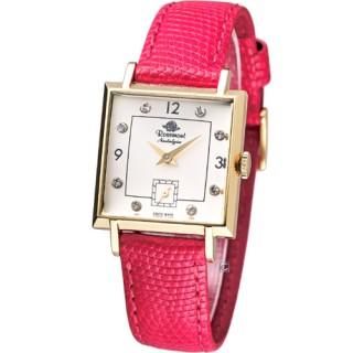 【Rosemont】戀舊系列 魅力腕錶(TN004-YW-CRD紅色款)