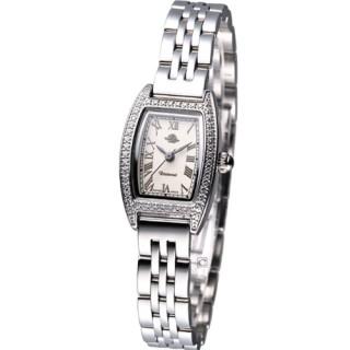 【Rosemont】酒桶型玫瑰系列時尚腕錶(TRS003-01)