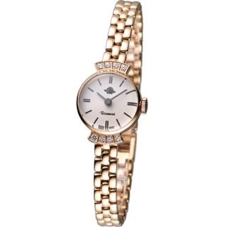 【Rosemont 】巴黎1925系列 時尚鍊錶(TRS007N-05玫瑰金色款)