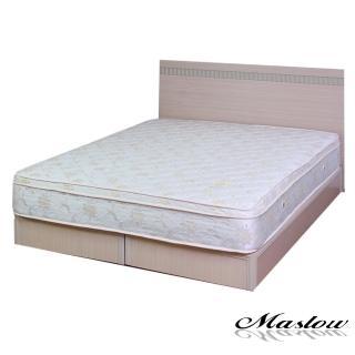 (Maslow-樂活白橡)雙人床組-5尺(不含床墊)