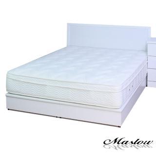 (Maslow-白色主義)雙人床組-5尺(不含床墊)