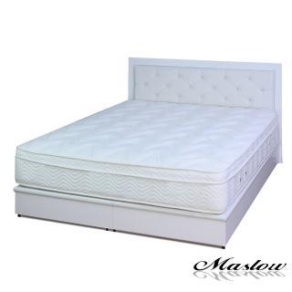 (Maslow-白色宮廷)雙人床組-5尺(不含床墊)