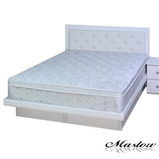 (Maslow-晶鑽純白)加大掀床組-6尺(不含床墊)