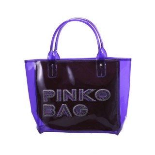 PINKO 夏日紫色透明水晶包12D035-J09-VIO