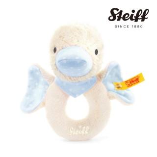 【STEIFF德國金耳釦泰迪熊】Gadwall Grip Toy 鴨子(嬰幼兒手搖鈴)