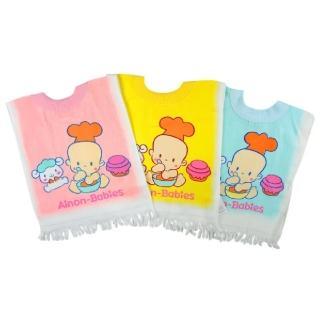 【愛儂寶貝】印花毛巾圍兜