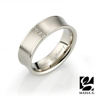【MASSA-G】DECO系列 Double Ring(Sware 鈦金女戒)