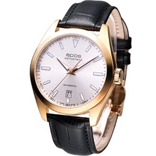 【EPOS】都會典藏機械錶(3411.131.24.18.25)