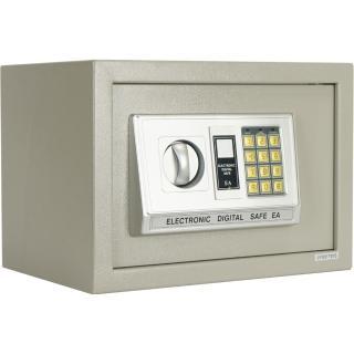 【TRENY】三鋼牙-電子式保險箱-中 HD-9750(門栓3實心鋼柱)