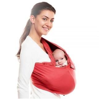 【荷蘭 wallaboo】酷媽袋鼠背巾(紅色)