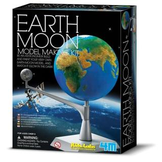 【 4M美勞創作 】地球和月亮
