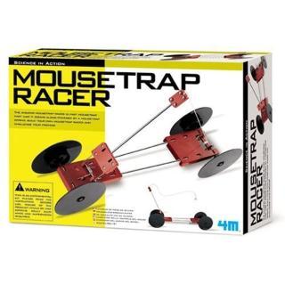 【 4M美勞創作 】M科學探索-趣味捕鼠器改裝賽車