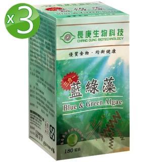 【長庚生技】藍綠藻2入(180粒/瓶)
