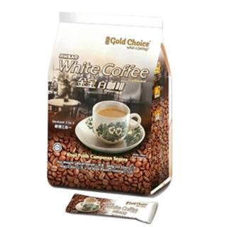 【馬來西亞 暢銷品牌】金寶白咖啡-特濃(40gx15小包)