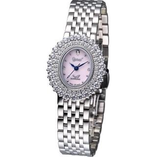 【Ogival】高雅薔薇 時尚腕錶(380-02DLS)