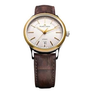 【Maurice Lacroix 艾美】優雅尊貴機械腕錶(18K錶圈38mm)